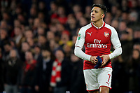 Alexis Sanchez of Arsenal during Chelsea vs Arsenal, Caraboa Cup Football at Stamford Bridge on 10th January 2018