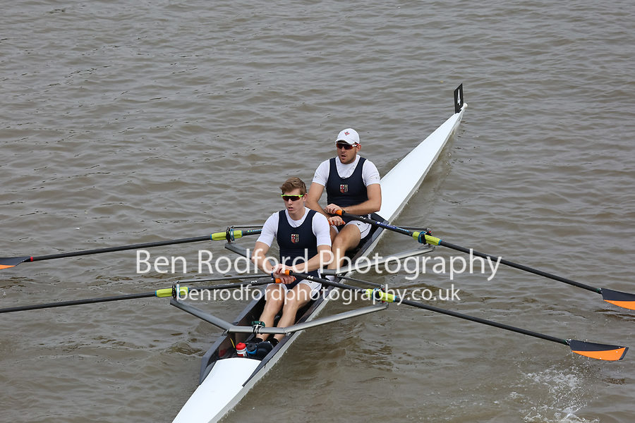 Crew: 4   LRC-HEAP    London Rowing Club    Op 2x Champ <br /> <br /> Pairs Head 2017<br /> <br /> To purchase this photo, or to see pricing information for Prints and Downloads, click the blue 'Add to Cart' button at the top-right of the page.