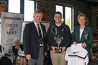 Colm Campbell Jnr (Warrenpoint) winner of the Ulster Stroke Play Championship at Galgorm Castle Golf Club, Ballymena, Northern Ireland. 28/05/19<br /> <br /> Picture: Thos Caffrey / Golffile<br /> <br /> All photos usage must carry mandatory copyright credit (© Golffile | Thos Caffrey)