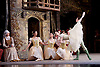 Coppelia <br /> Birmingham Royal Ballet <br /> at The Birmingham Hippodrome, Great Britain <br /> rehearsal<br /> 13th June 2017 <br /> <br /> <br /> <br /> <br /> Swanilda: Samara Downs <br /> <br /> <br /> Franz: Mathias Dingman <br /> <br /> <br /> <br /> <br /> <br /> <br /> <br /> <br /> <br /> Music by L&eacute;o Delibes<br /> <br /> <br /> Choreography by Marius Petipa<br /> <br /> Enrico Cecchetti<br /> <br /> Production &amp; designs by Peter Wright<br /> <br /> <br /> Photograph by Elliott Franks <br /> Image licensed to Elliott Franks Photography Services