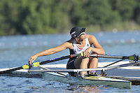 Banyoles, SPAIN,   GBR W1X Kath GRAINGER, training session FISA World Cup Rd 1. Lake Banyoles  Thursday 29/05/2009   [Mandatory Credit. Peter Spurrier/Intersport Images]