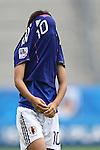 17.07.2010,  Augsburg, GER, FIFA U20 Womens Worldcup, Nigeria vs Japan,  im Bild Trauer nach dem Spiel Mana IWABUCHI  (Japan Nr.10)  , Foto: nph /  Straubmeier