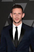 HOLLYWOOD, CA - NOVEMBER 11: Jamie Bell at the AMPAS 9th Annual Governors Awards at the Dolby Ballroom in Hollywood, California on November 11, 2017. <br /> CAP/MPI/DE<br /> &copy;DE/MPI/Capital Pictures