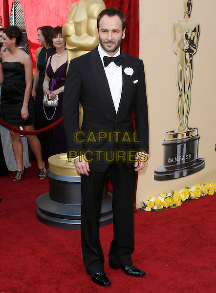 TOM FORD.The 82nd Annual Academy Awards held aat The Kodak Theatre in Hollywood, California, USA..March 7th, 2010.oscars full length black tuxedo beard facial hair .CAP/EAST.©Eastman/Capital Pictures.