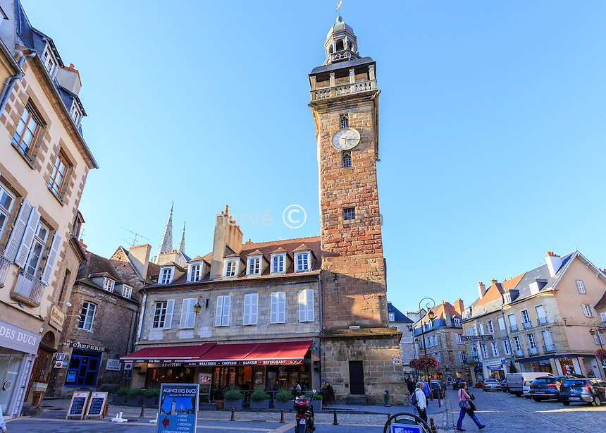 France, Allier (03), Moulins, la tour Jacquemart // France, Allier, Moulins, Jacquemart Tower