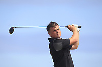 James Sugrue (Mallow) on the 17th tee during Round 2 - Strokeplay of the North of Ireland Championship at Royal Portrush Golf Club, Portrush, Co. Antrim on Tuesday 10th July 2018.<br /> Picture:  Thos Caffrey / Golffile