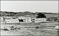BNPS.co.uk (01202 558833)<br /> Pic: JanJarvis/BNPS<br /> <br /> The stables and cart houses of the gunpowder factory.<br /> <br /> A lot of bang for your buck...<br /> <br /> A former royal hunting lodge that went on to become a world-renowned gunpowder factory has exploded onto the property market.<br /> <br /> Eyeworth Lodge, in the picturesque surroundings of Fritham in the New Forest, was the perfect isolated place for the risky business that saw lots of men injured or even killed, but it is now a stunning country home for anyone who wants to escape to the country.<br /> <br /> The seven-bedroom home, which has eight acres of land, is on the market with Strutt &amp; Parker for &pound;4million.