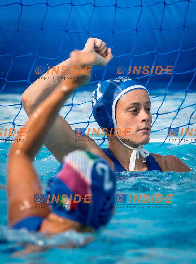 11 COTTI Aleksandra ITA<br /> 2 RADICCHI Federica ITA<br /> Hungary (White) Vs Italy (Blue) Women<br /> LEN European Water Polo Championships 2014 - July 14-27<br /> Alfred Hajos -Tamas Szechy Swimming Complex<br /> Margitsziget - Margaret Island<br /> Day13 - July 26<br /> Photo Giorgio Scala/Inside/