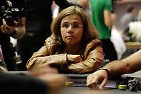 Sao Paulo (SP), 26/11/2019 - BSOP-Millions - Claudia Rodrigues - Comecou nesta terca-feira (26), o maior torneio de Poker da America Latina, o BSOP Millions. Neste primeiro dia de evento, diversas celebridades se juntam para disputar a famosa ''Mesa das Estrelas''. (Foto: Diego Soares/Codigo 19/Codigo 19)
