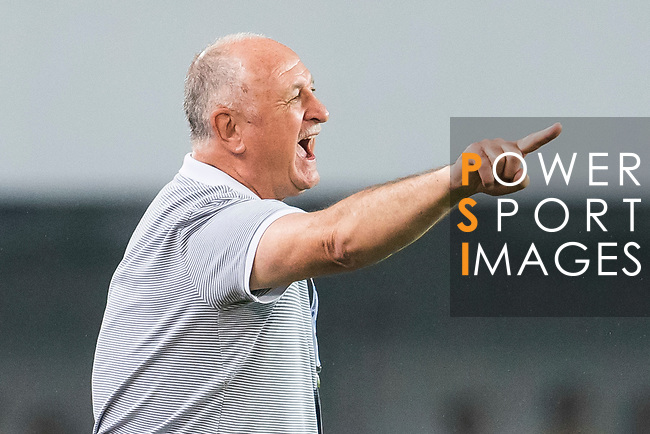 Coach Luiz Felipe Scolari of Guangzhou Evergrande FC reacts during their AFC Champions League 2017 Match Day 1 Group G match between Guangzhou Evergrande FC (CHN) and Eastern SC (HKG) at the Tianhe Stadium on 22 February 2017 in Guangzhou, China. Photo by Victor Fraile / Power Sport Images
