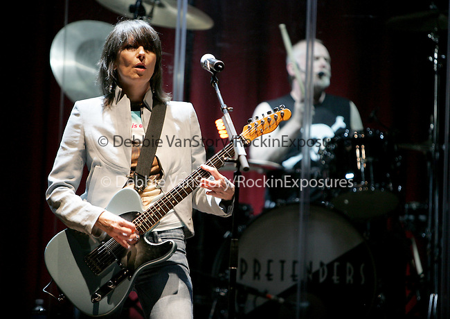 Chrissie Hynde of The Pretenders performs live at The HOB in Anaheim,California on March 23, 2006.Copyright 2006 by RockinExposures