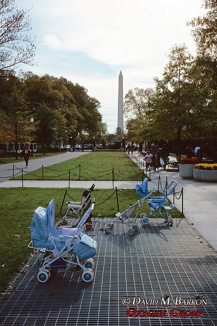 Baby Carriages & Washington Mem