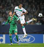 Fussball Champions League 2008/2009, SV Werder Bremen - Panathinaikos FC Athen