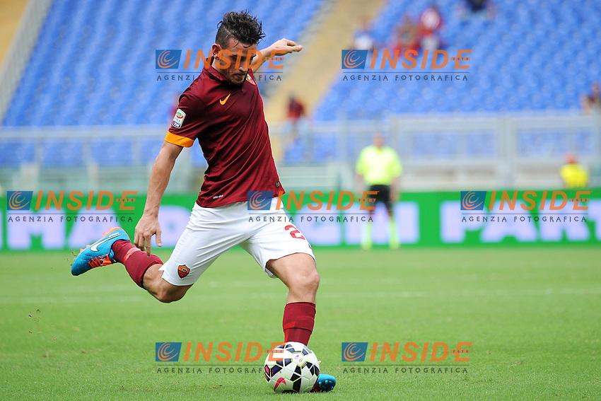 Alessandro Florenzi AS Roma <br /> Roma 21-09-2014 Stadio Olimpico, Football Calcio Serie A AS Roma - Cagliari. Foto Andrea Staccioli / Insidefoto