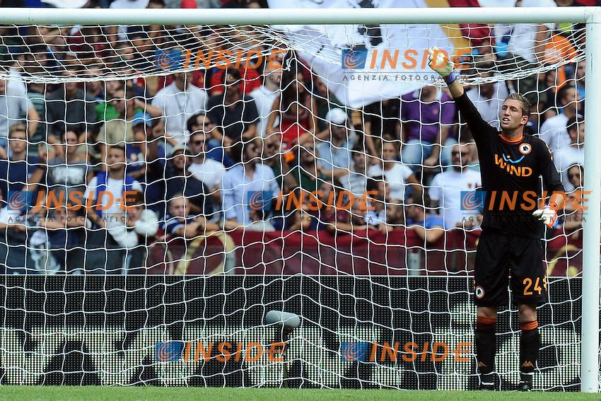 Maarten Stekelenburg Roma.16/09/2012 Roma Stadio Olimpico.Football Calcio 2012 / 2013 .Campionato di Calcio Serie A.Roma vs Bologna 2-3.Foto Insidefoto / Antonietta Baldassarre.