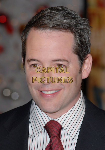 "MATTHEW BRODERICK.""Deck the Halls"" World Premiere held at Grauman's Chinese Theatre, Hollywood, California, USA, .12 November, 2006..portrait headshot.Ref: ADM/CH.www.capitalpictures.com.sales@capitalpictures.com.©Charles Harris/AdMedia/Capital Pictures."