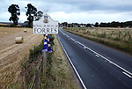 Rangers on tour as they visit Forres in the second round of the Scottish Cup part of the 3883 miles covered this season following Rangers up and down the country