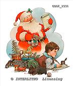 GIORDANO, CHRISTMAS SANTA, SNOWMAN, WEIHNACHTSMÄNNER, SCHNEEMÄNNER, PAPÁ NOEL, MUÑECOS DE NIEVE, paintings+++++,USGI1531,#X#