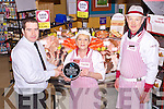 Garvey's SuperValu who won the BIM Seafood Circle Supermarket Seafood Counter for 2012, from left: Kevin O'Connor (Manager), Terry Griffin and Gerry Hanafin