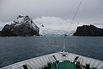 Elephant Island. Croisière à bord du NordNorge. Péninsule Antarctique