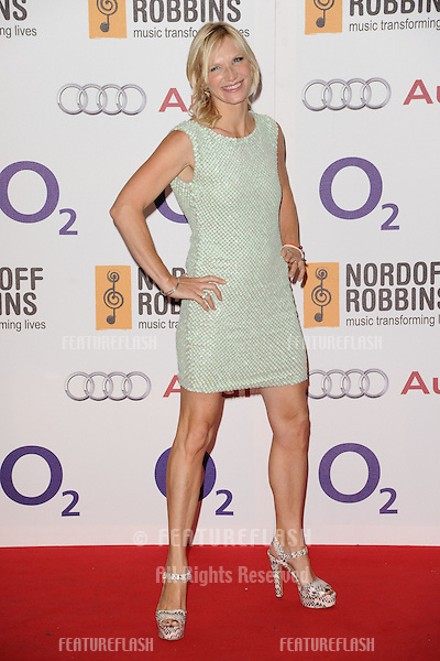 Jo Whiley arriving for the Nordoff Robbins Silver Clef Awards 2012, London. 29/06/2012 Picture by: Steve Vas / Featureflash