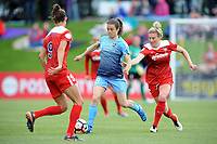 Boyds, MD - Saturday May 06, 2017: Kelley O'Hara during a regular season National Women's Soccer League (NWSL) match between the Washington Spirit and Sky Blue FC at Maureen Hendricks Field, Maryland SoccerPlex.