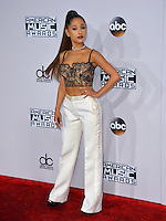 LOS ANGELES, CA. November 20, 2016: Singer Ariana Grande at the 2016 American Music Awards at the Microsoft Theatre, LA Live.<br /> Picture: Paul Smith/Featureflash/SilverHub 0208 004 5359/ 07711 972644 Editors@silverhubmedia.com