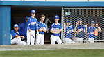 TORRINGTON CT. 27 July 2017-072717SV04-Wolcott Storm players watch as their team rallies of a few runs in the 4th inning against the Colton, CA. Nighthawks during the Mickey Mantle World Series in Torrington Thursday.<br /> Steven Valenti Republican-American
