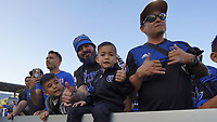 SAN JOSE, CA - SEPTEMBER 30: Fans during a Major League Soccer (MLS) match between the San Jose Earthquakes and the Seattle Sounders on September 30, 2019 at Avaya Stadium in San Jose, California.