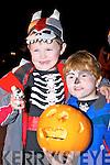 Ben and Dan O'Dwyer, Killorglin at the annual Halloween parade in Killorglin on Saturday night.