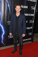 "LOS ANGELES - OCT 16:  R. Brandon Johnson at the ""High Voltage"" Los Angeles Red Carpet Premiere at the TCL Chinese 6 Theater on October 16, 2018 in Los Angeles, CA"