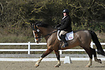 Class 6. British dressage. Brook Farm Training Centre. Essex. UK. 02/03/2019. ~ MANDATORY Credit Garry Bowden/Sportinpictures - NO UNAUTHORISED USE - 07837 394578