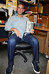 CORAL GABLES, FL - MAY 19: Jorge Posada greets fans and signs copies of his book 'The Journey Home: My Life In Pinstripes' at Books and Books on May 19, 2015 in Coral Gables, Florida. ( Photo by Johnny Louis / jlnphotography.com )