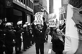 Chicago, Illinois.USA.April 5, 2003..Anti-War protest as US troops enter Baghdad.
