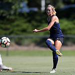 CARY, NC - JUNE 10: NC Courage trialist Stephanie Ochs. The North Carolina Courage held a scrimmage against the CASL Red South U16 Boys team on June 10, 2017, at WakeMed Soccer Park Field 7 in Cary, NC.