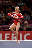 3/1/08 - Photo by John Cheng - Nastia Liukin of the United States performs on floor exercise at the Tyson American Cup in Madison Square GardenPhoto by John Cheng - Tyson American Cup 2008 in Madison Square Garden, New York.Nastia Liukin