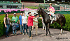Including winning at Delaware Park on 8/8/13