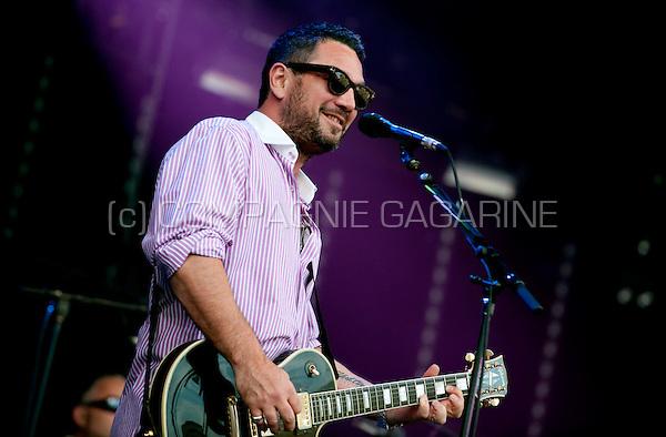 American band the Fun Lovin' Criminals performing at the Suikerrock festival in Tienen (Belgium, 01/08/2009)