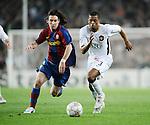 Fussball Champions League Viertelfinale 2007/2008, FC Barcelona - Manchester United