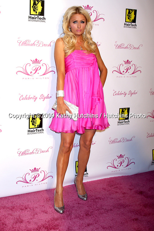 Paris Hilton .arriving at the Paris Hilton Beauty Line Launch Party.Thompson Hotel.Beverly Hills,  CA.November 17, 2009.©2009 Kathy Hutchins / Hutchins Photo.