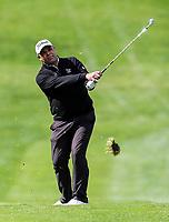 Jared Pender during the Charles Tour Augusta Funds Management Ngamotu Classic, Ngamotu Golf Course, New Plymouth, New Zealand, Sunday 15 October 2017.  Photo: Simon Watts/www.bwmedia.co.nz