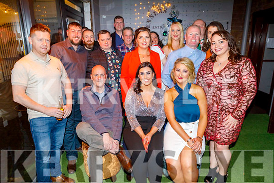 Staff of Ard Rí Marble enjoying their Christmas party in Benners Hotel on Saturday. L to r: Paul Swaine, Tracy Mangan and Imelda Roche.