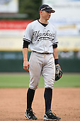 June 1st 2008:  Third baseman Cody Ransom (3) of the Scranton Wilkes-Barre Yankees, Class-AAA affiliate of the New York Yankees, during a game at Frontier Field in Rochester, NY.  Photo By Mike Janes/Four Seam Images
