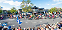Picture by SWpix.com - 04/05/2018 - Cycling - 2018 Tour de Yorkshire - Stage 2: Barnsley to Ilkley - Yorkshire, England - The peloton passes through Ilkley.