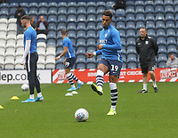 Preston North End's André Green  warms up<br /> <br /> Photographer Mick Walker/CameraSport<br /> <br /> The EFL Sky Bet Championship - Preston North End v Wigan Athletic - Saturday 10th August 2019 - Deepdale Stadium - Preston<br /> <br /> World Copyright © 2019 CameraSport. All rights reserved. 43 Linden Ave. Countesthorpe. Leicester. England. LE8 5PG - Tel: +44 (0) 116 277 4147 - admin@camerasport.com - www.camerasport.com
