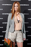 Olivia de Boorbon attends the Emporio Armani Boutique opening at Serrano street in Madrid, Spain. April 08, 2013. (ALTERPHOTOS/Caro Marin) /NortePhoto