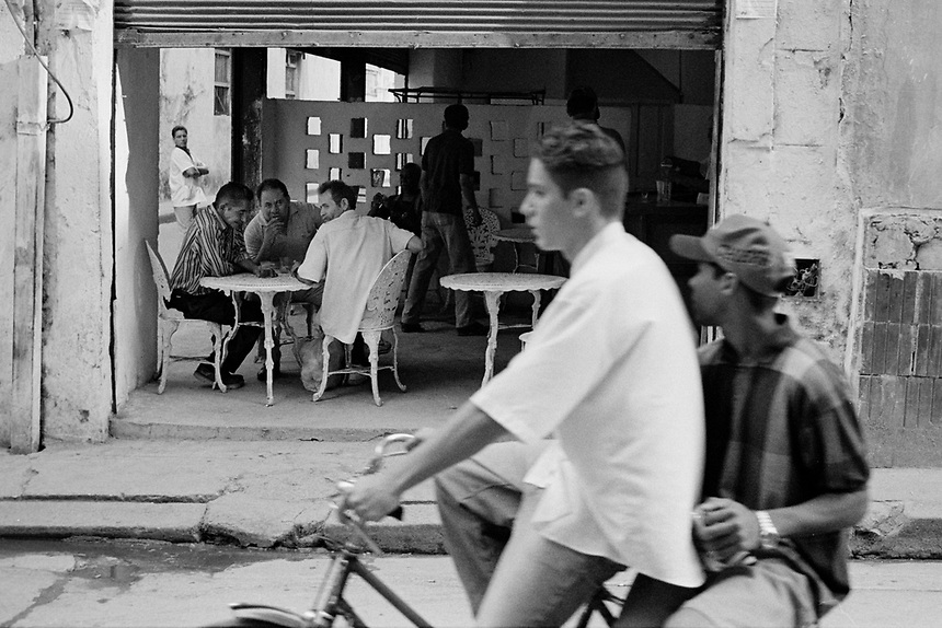 On the streets of Havana, Cuba, at the millennium.