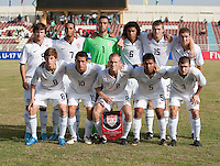 US Under-17 Men's National Team Starting Line-up. Italy defeated the US Under-17 Men's National Team 2-1 in Kaduna, Nigera on November 4th, 2009.