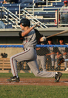June 27, 2003:  Justin Harris of the Williamsport Crosscutters during a game at Dwyer Stadium in Batavia, New York.  Photo by:  Mike Janes/Four Seam Images