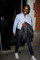 LONDON, ENGLAND - OCTOBER 08 :  Charles Venn leaves the production of 'Strictly Come Dancing : It Takes Two', at The Hospital Club Studios on October 08, 2018 in London, England.<br /> CAP/AH<br /> &copy;AH/Capital Pictures